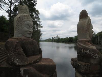 Entrada de Angkor Thom