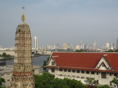 Do alto de Wat Arun