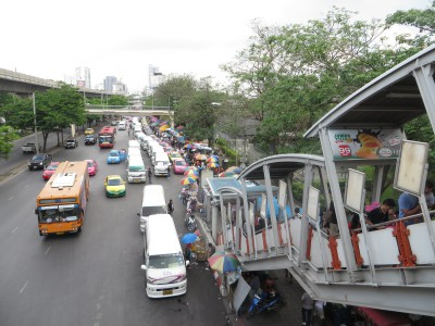 Chegada ao Chatuchak Weekend Market